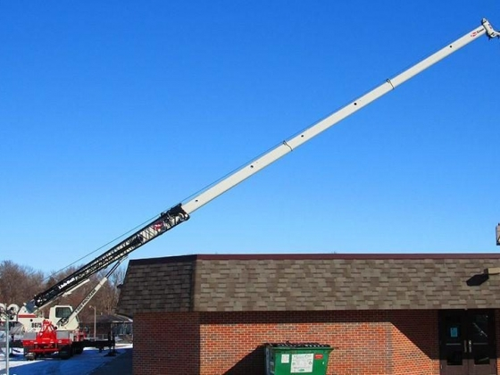 Heavy lifting services by Pro Crane in Norfolk, NE
